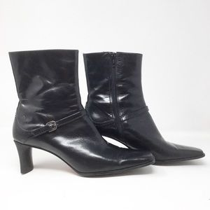 "Nine West Women's ""Lagosta"" Black leather boot"